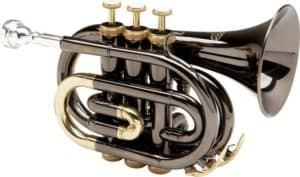 Allora MXPT 5801 Black Nickel Pocket Trumpet