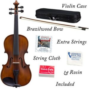 bunnel basic clearance violin package includes