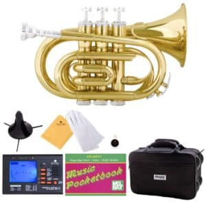 Mendini Bb Pocket Trumpet Accessories