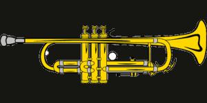 a standard Bb trumpet