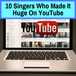 Star singers on Youtube