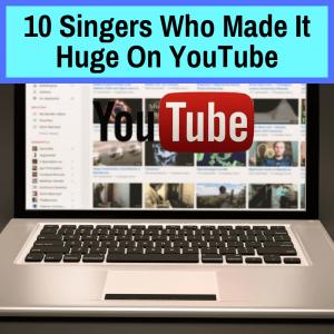 Star singers on Youtube