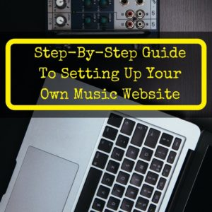 how to create a music website