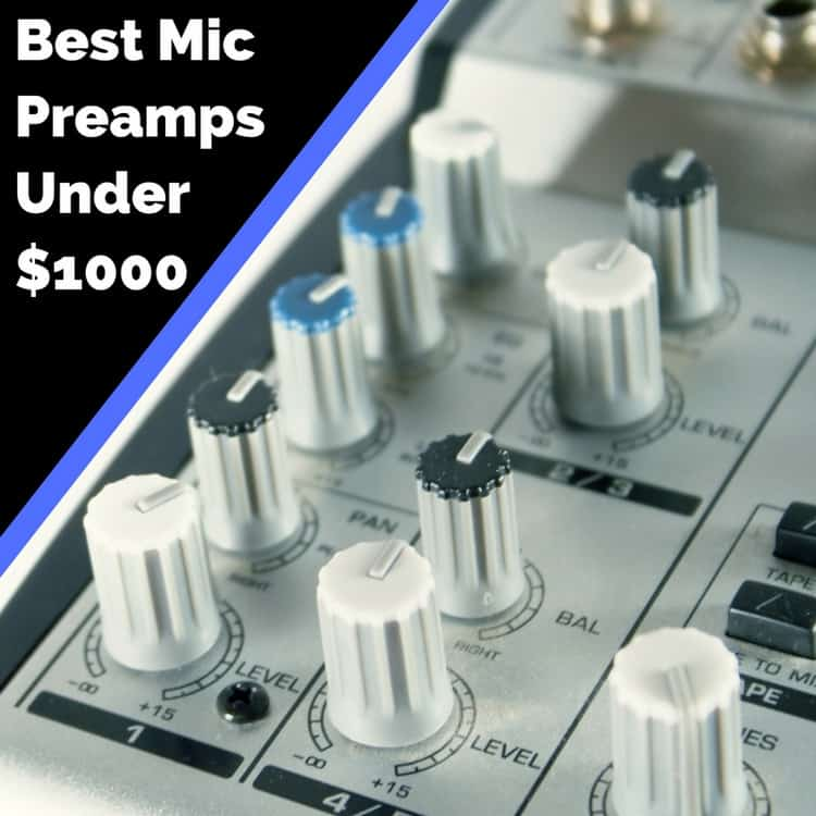 best microphone preamplifier under 1000