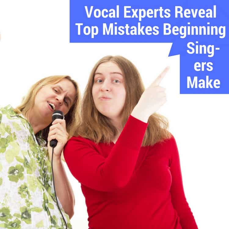 mistakes beginning singers make