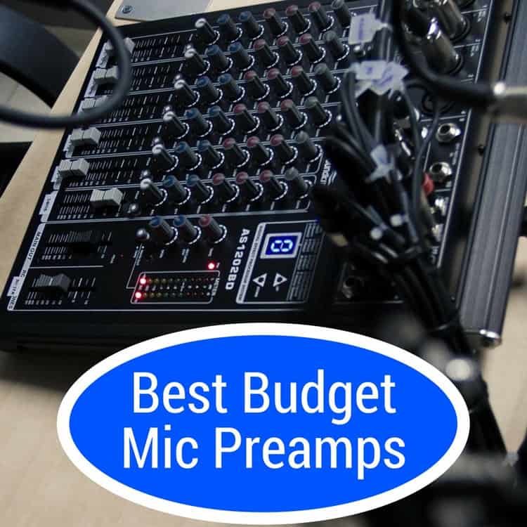 good mic preamps on a budget