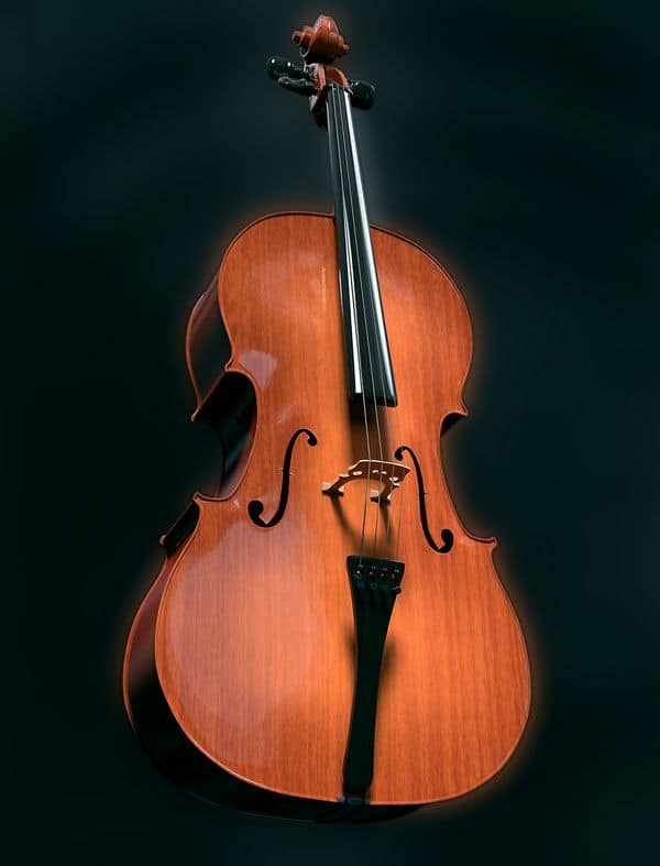 cello large instrument like violin