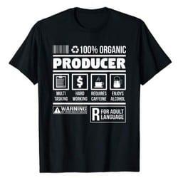 music producer t-shirt