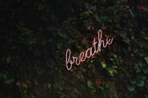 breathe to recover voice