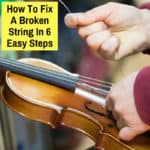 fix broken violin string