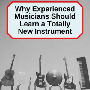 experienced musicians learning second instrument