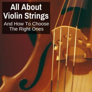 choosing violin strings