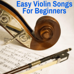 Easy songs for beginning violinists
