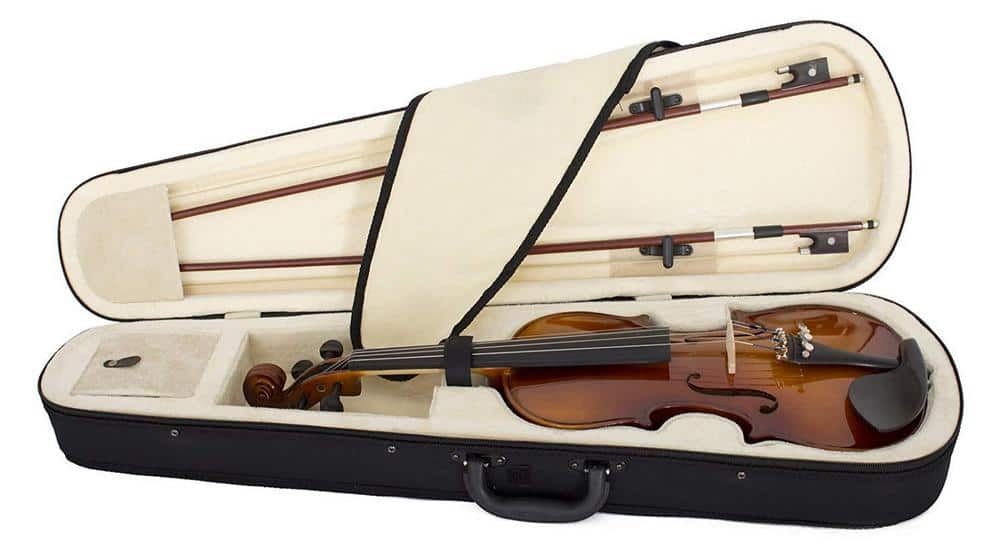 Cecilio violin in case