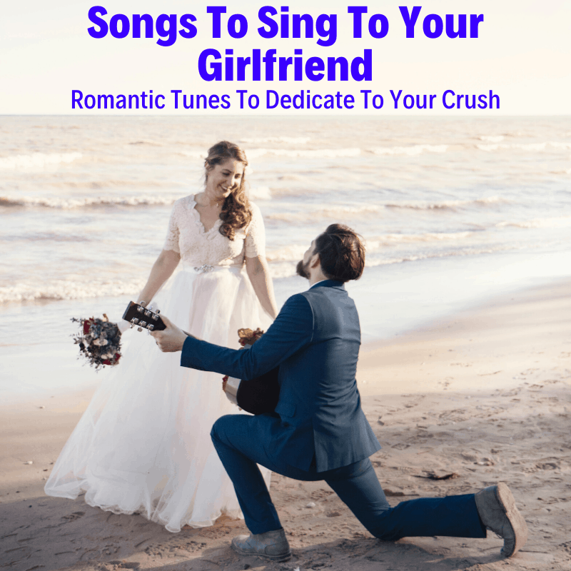 Man singing song for his girlfriend