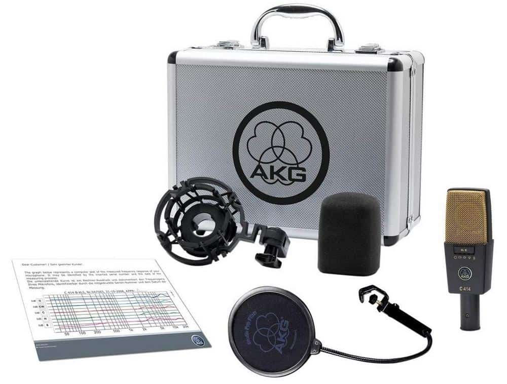 AKG C414 XLII all included