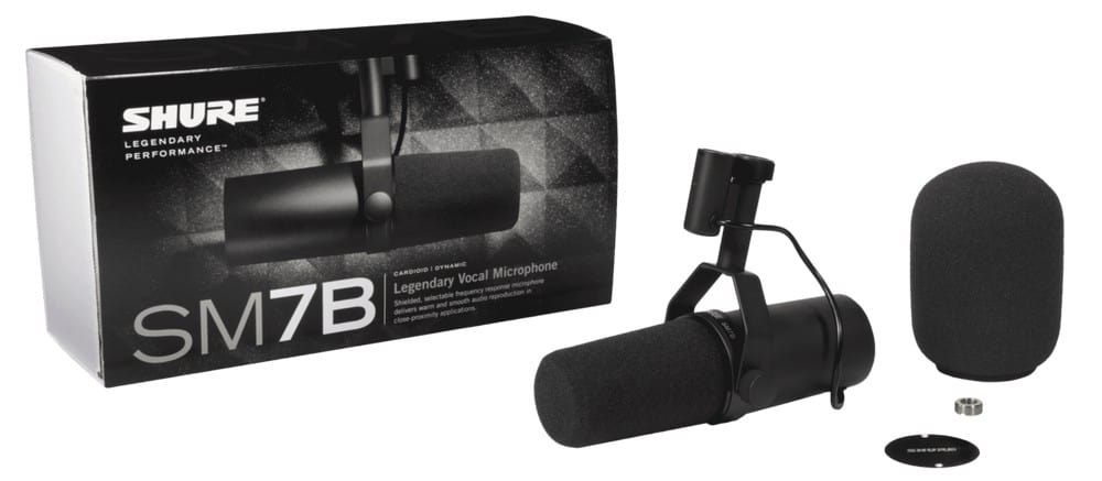 Shure SM7B Package