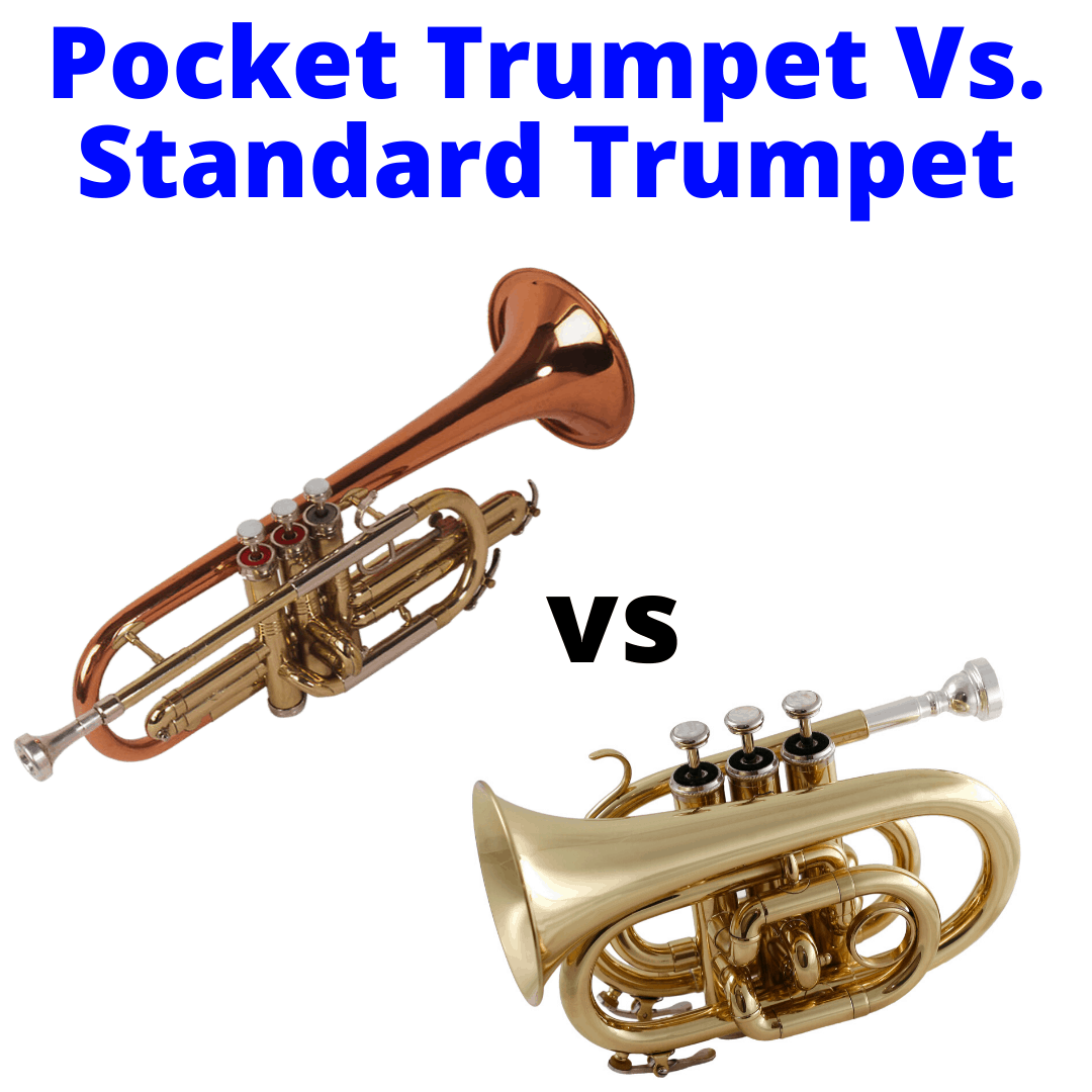 Pocket trumpet versus regular trumpet