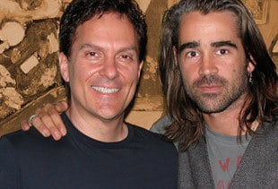 Roger Love with Colin Farrell