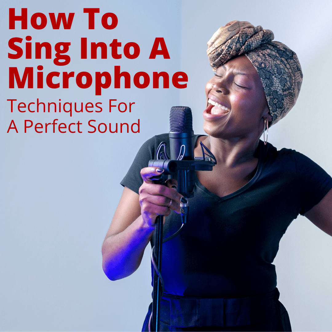 How to sing into a microphone