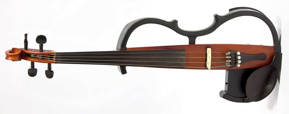 Electric violin body