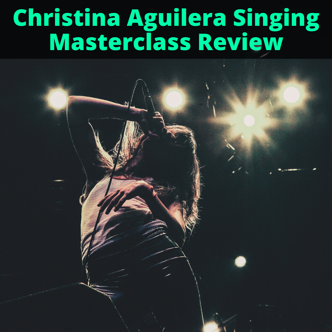 Christina Aguilera Teaches Singing Masterclass Review