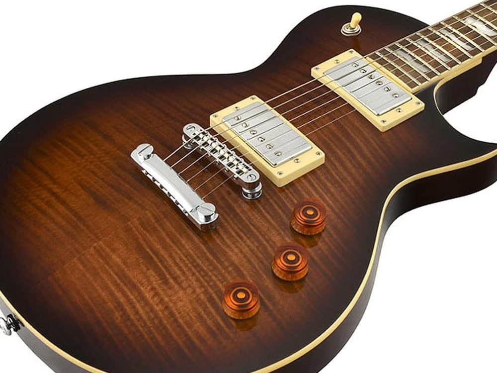 ESP LTD EC-256 brown sunburst