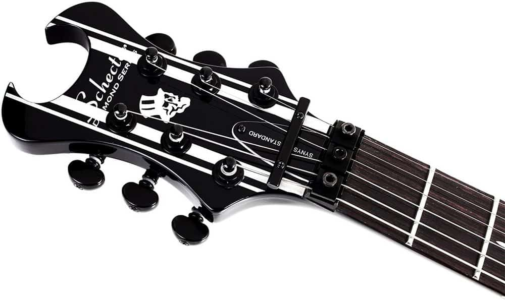 Schecter Synyster Standard headstock