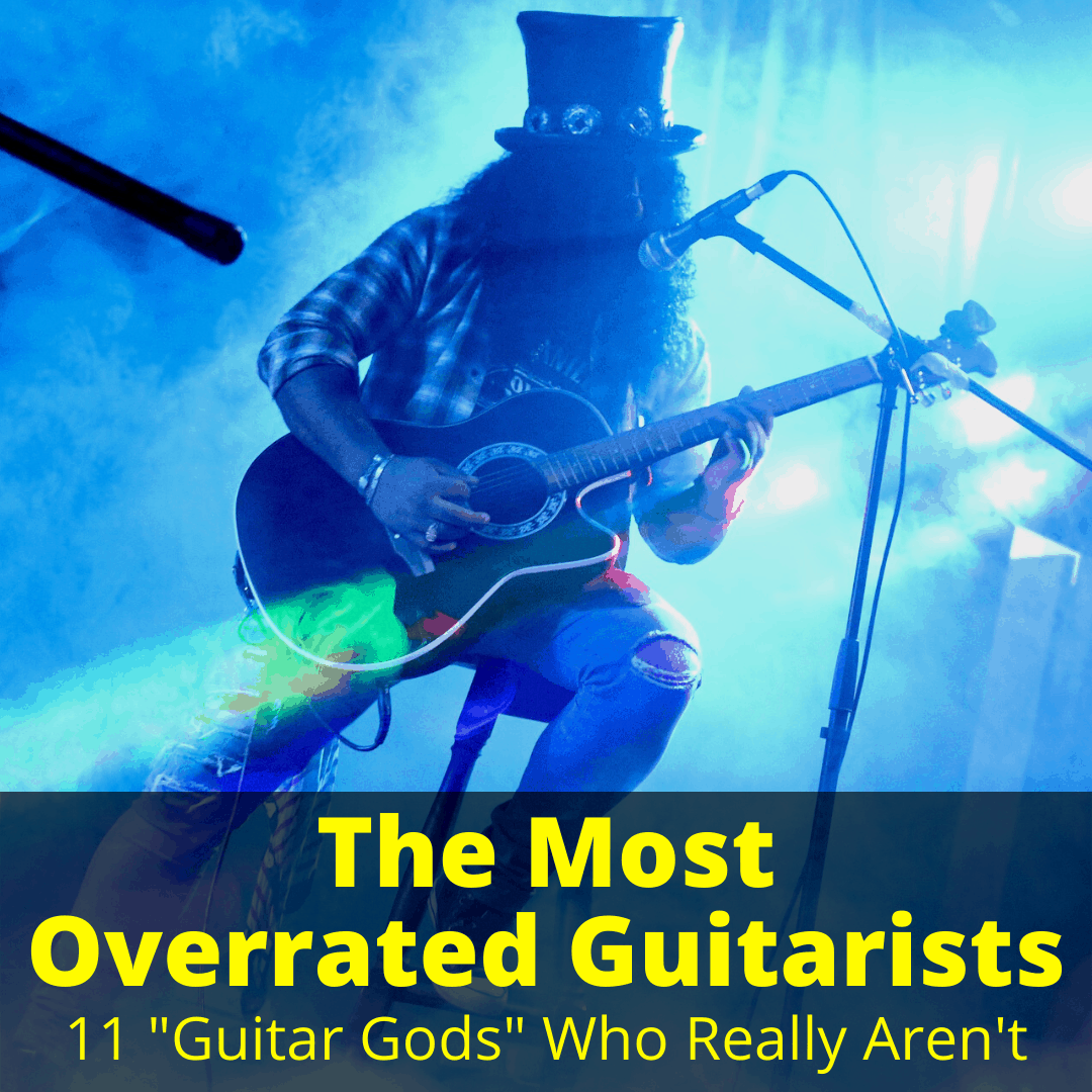 Most Overrated Guitarists