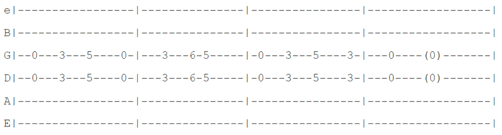 Smoke On The Water guitar tab