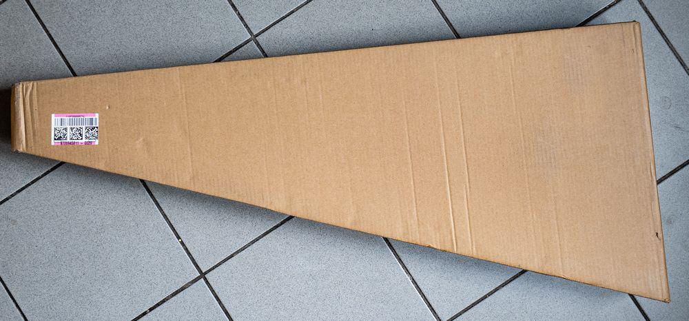 Guitar shipping box