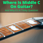 Where Is Middle C On Guitar
