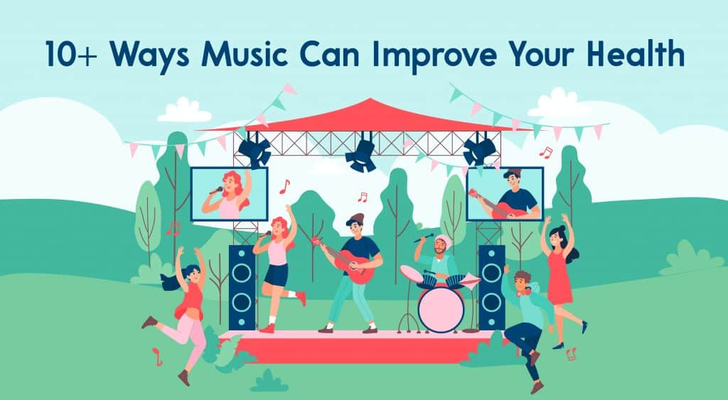 10 Ways Music Can Improve Your Health